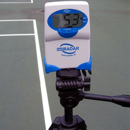 radar de vitesse de swing pour tennis sportssensors. Black Bedroom Furniture Sets. Home Design Ideas